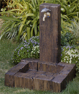 【送料無料】立水栓ユニットランバータイプ地中(塩ビ)ランバーパンセット※おまけの蛇口つき