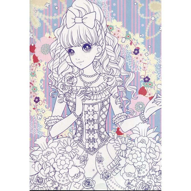 楽天市場花の妖精 可愛いお姫様 大人の塗り絵中国の本屋