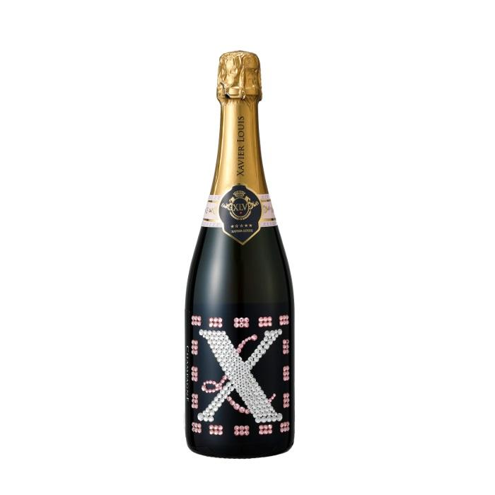 スワロフスキー デコレーション シャンパン ロゼ [箱・袋付き]