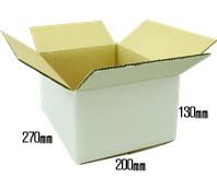 60サイズ 白色ダンボール(段ボール500枚セット)  j4yv3qd9