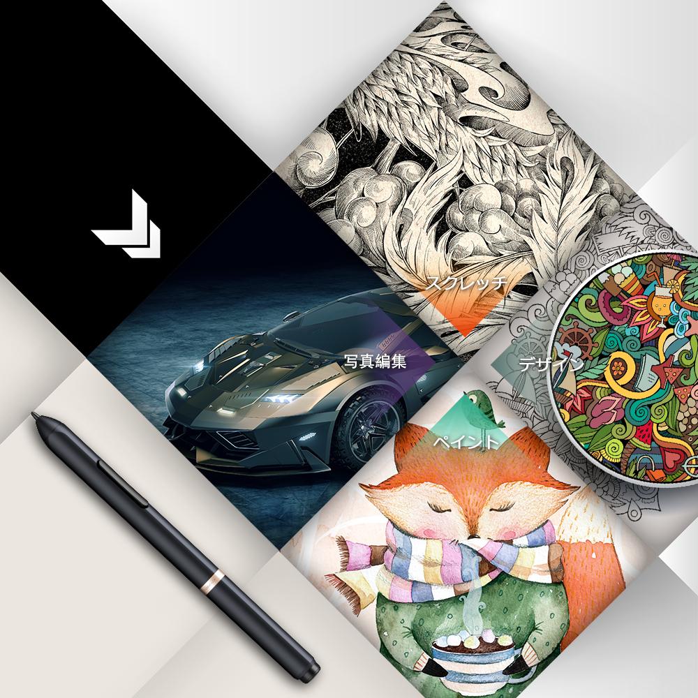 XP-Pen pen tab liquid crystal pen tablet 15 6 inches battery-free stylus  full HD pressure of the pen 8192 level six essence pre-key Artist15 6  liquid
