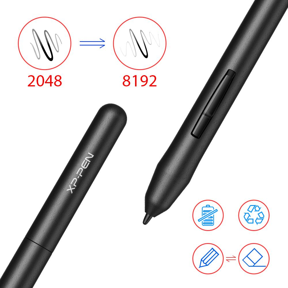 Black StarG430S for the OSU! game for the introduction to XP-Pen pen tablet  pen tab 4*3 inch 2mm thickness 8192 level pressure of the pen illustration