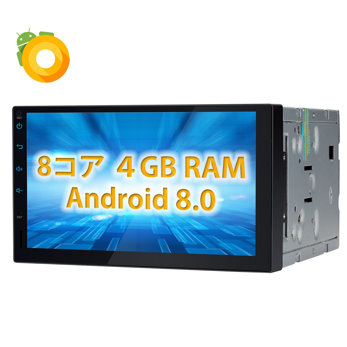 XTRONS DVDプレーヤー (TE103AP) 8コア 10 1インチ 静電式2DIN一体型車載PC