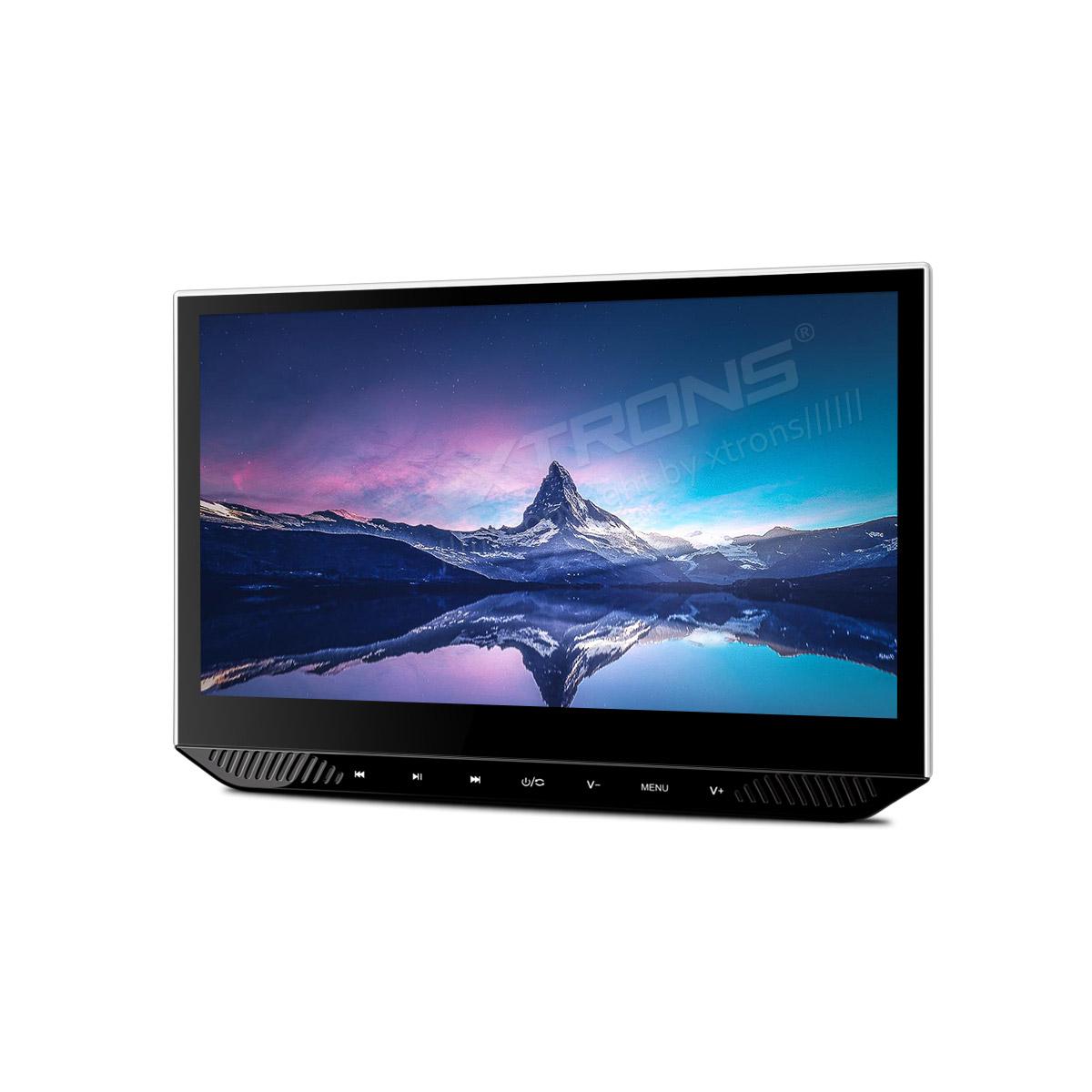 フルHDヘッドレストモニター HDMI入力対応 HM131HD オリジナル 新作製品 世界最高品質人気 XTRONS IPS大画面 フルHD 広視野角対応 1080Pビデオ再生対応 13.3インチ ヘッドレストモニター 1個セット HDMI機能 1920 1080高画質