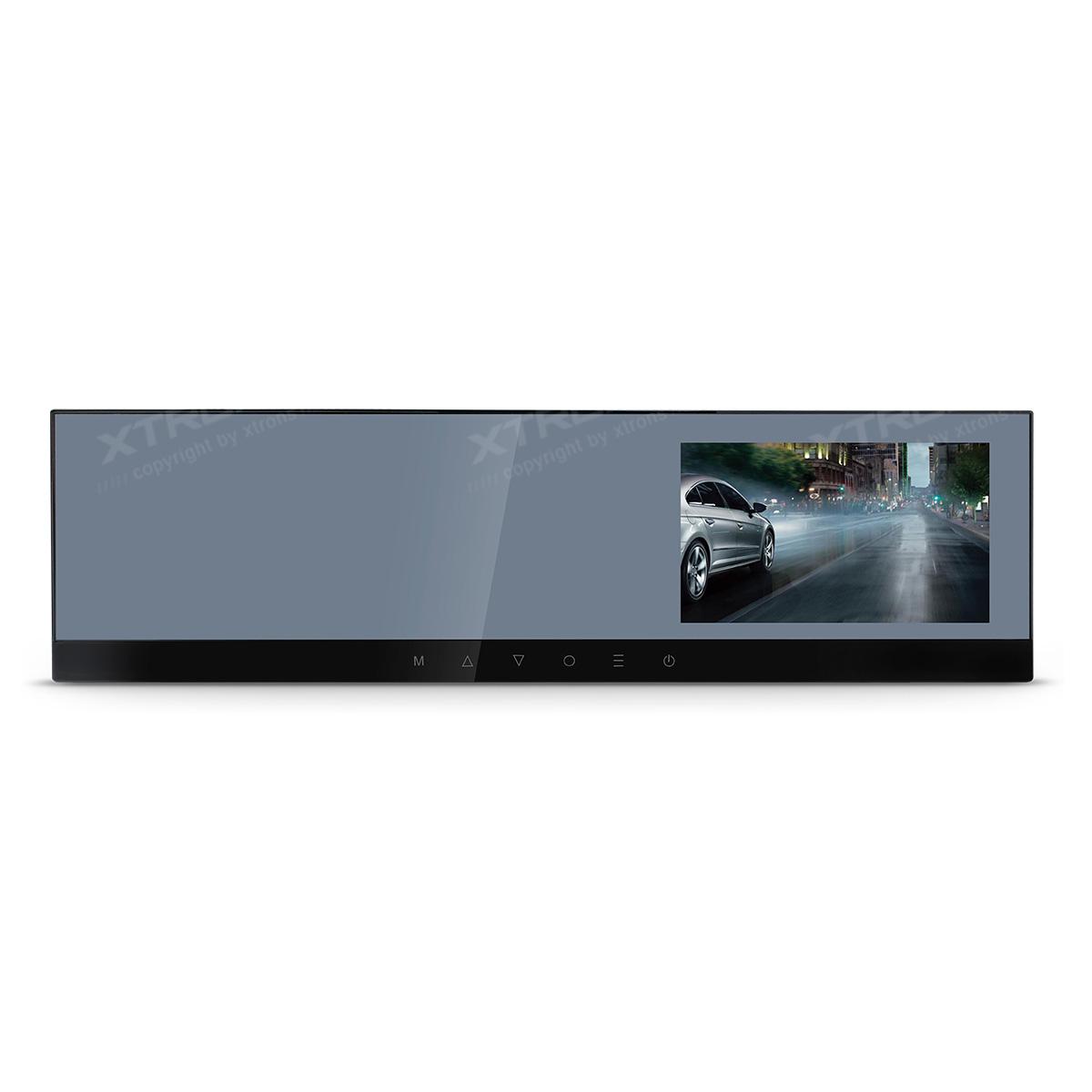 (R7HD) ドライブレコーダー バックミラー 4.3インチ TFTカラー液晶 ミラー型 HD 1280x720高解像度 フレームレート30fps 画角 140度 駐車監視 常時録画 衝撃録画 1年保証