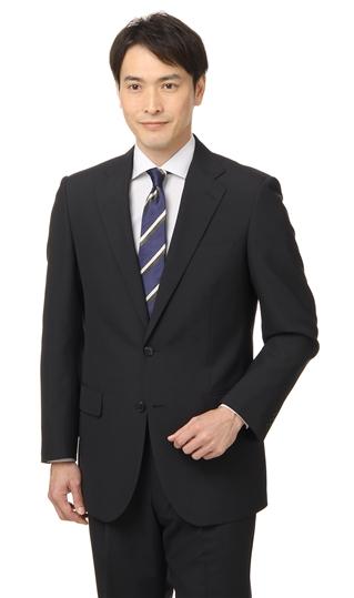 【送料無料!!】 春夏用 ブラック系 スタンダードスーツ CHRISTIAN ORANI