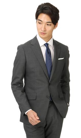 送料無料 春夏用 グレー系 売れ筋ランキング スタイリッシュスーツ MEN PERSON'S 出色 FOR