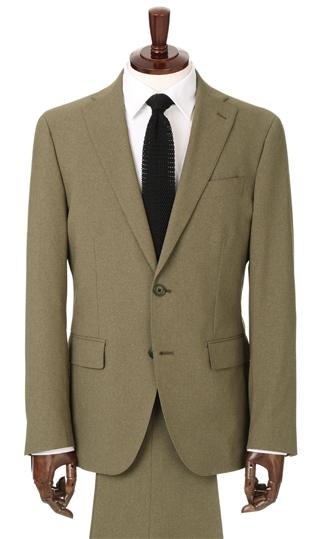 送料無料 使い勝手の良い 好評 春夏用 ブラウン系 スタイリッシュスーツ URBAN BLACK SETTER ツーパンツ