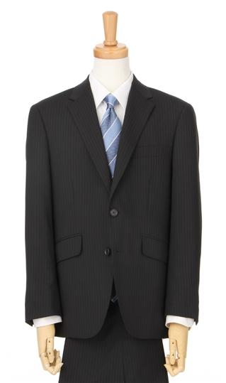 春夏用 ブラック系 スタイリッシュスーツ【ツーパンツ】 PAZZO collection