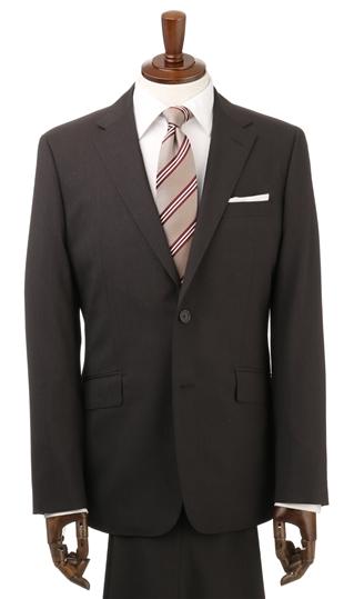 盛夏用 ブラウン系 スタイリッシュスーツ【ツーパンツ】 PERSON'S FOR MEN