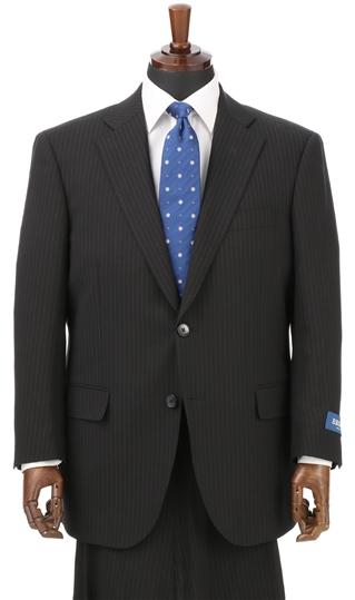 春夏用 ブラック系 スタンダードスーツ《キング&トール》《ツーパンツ》 REGAL