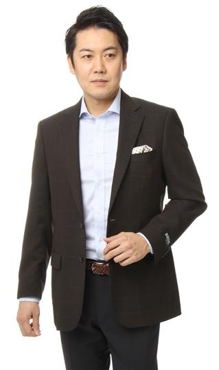 春夏用 ブラウン系 スタンダードジャケット【ウール混】 REGAL