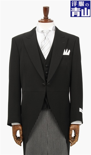 スリーシーズン用 ブラック系 モーニングコート(キング) C.D.K. SUPER TEX メンズ コート メンズコート モーニング モーニングコート