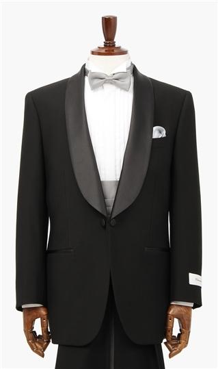 タキシード 【AB体】 スリーシーズン用 礼装 ブラック系 Venerato フォーマル ワンタック 男性 ショールカラー タキシードスーツ メンズ