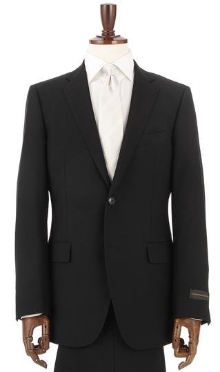 スリーシーズン用 ブラック系 シングル スタンダードフォーマル CHRISTIAN 期間限定で特別価格 ORANI 喪服 BLACK 安売り ブラックスーツ LABEL 礼服