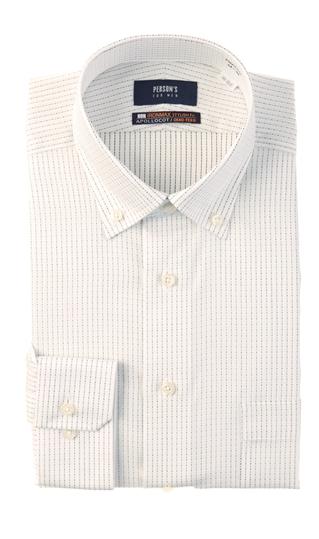 オールシーズン用 グレー系 激安価格と即納で通信販売 ボタンダウンスタイリッシュワイシャツ NON 卓抜 FOR IRONMAX PERSON'S MEN