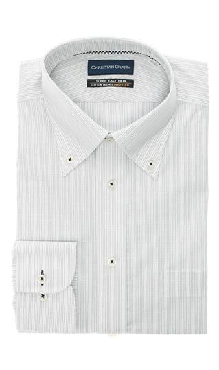 オールシーズン用 グレー系 ボタンダウンスタンダードワイシャツ ランキングTOP5 ORANI CHRISTIAN キングトール 信託