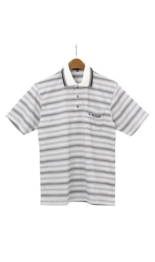 売却 春夏用 ●日本正規品● グレー系 ポロシャツ DUNLOP 日本製