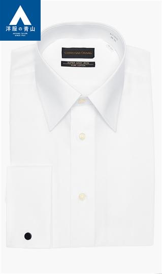全部季節事情白派常規彩色禮服用恤衫CHRISTIAN ORANI西服的青山