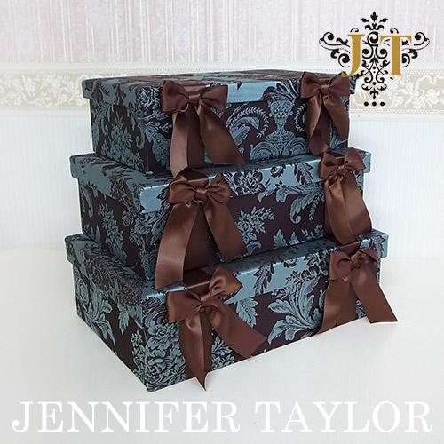 ジェニファーテイラー BOX3Pセット Carlisle-Ribbon Jennifer Taylor 【送料無料】
