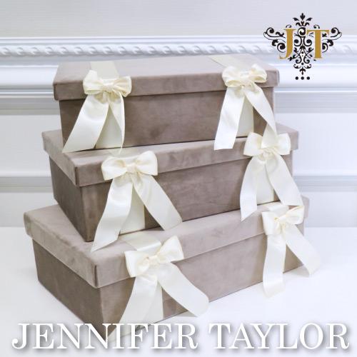 [P5倍 3/28 2時まで] ジェニファーテイラー BOX3Pセット Velours GB Jennifer Taylor 【送料無料】