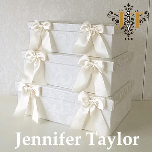 [P2倍 1/16 2時まで] ジェニファーテイラー BOX3Pセット Florence(WH) Jennifer Taylor 【送料無料】