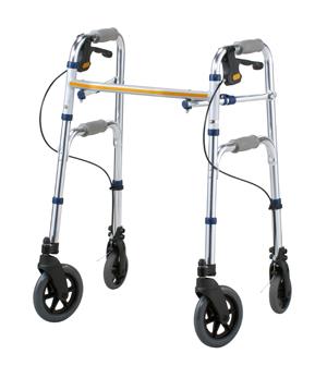 【送料無料】 セーフティーアーム Vタイプウォーカー【代引き不可商品】【イーストアイ】4輪タイプの歩行器