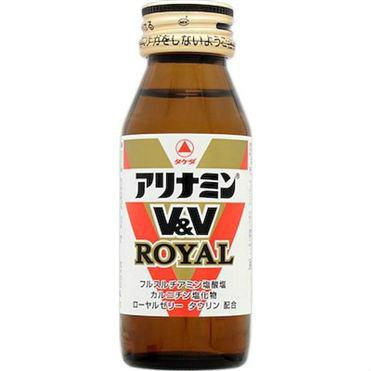 【指定医薬部外品】アリナミンV&V ロイヤル 50mL×50本