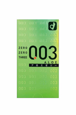 オカモトゼロゼロスリー 新品■送料無料■ アロエ 訳ありセール 格安 10個入 コンドーム