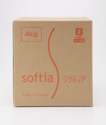 ソフティア 2GEL(ゲル)ゼリー食用 4kg バルクタイプ