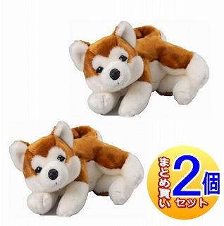 【2個セット/メーカー直送】なでなでワンちゃん HACHI(ハチ) 秋田犬【返品交換・キャンセル不可品】