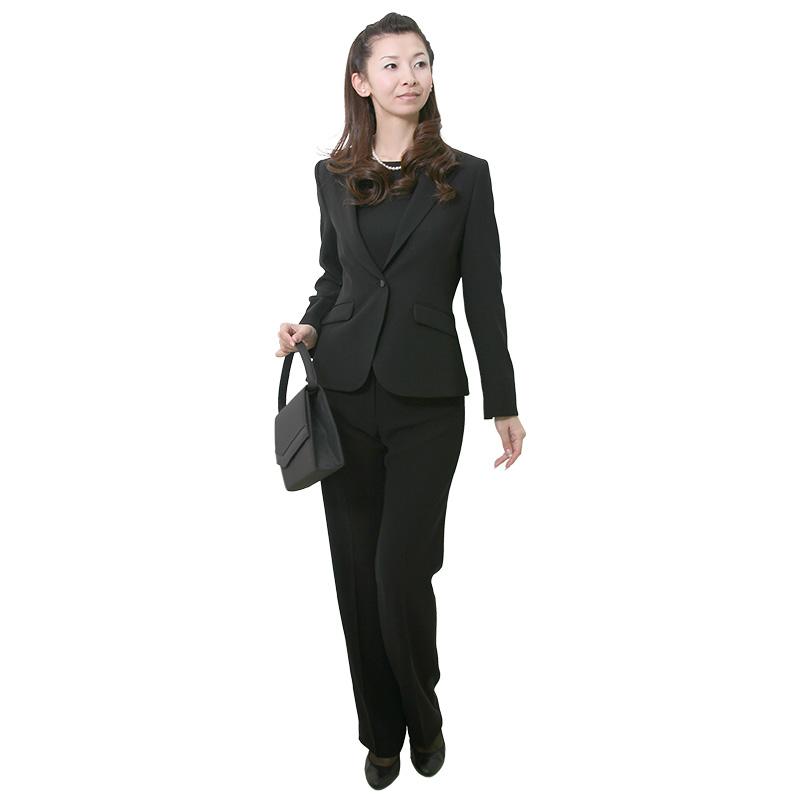 【レンタル】[パンツスーツ]女性礼服502 7号 fy16REN07 [ls]