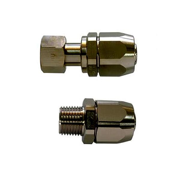 サンコー 強化ガスホース用金具セット O6 13A×R1/2・Rc1/2TU(都市ガス用)10個セット