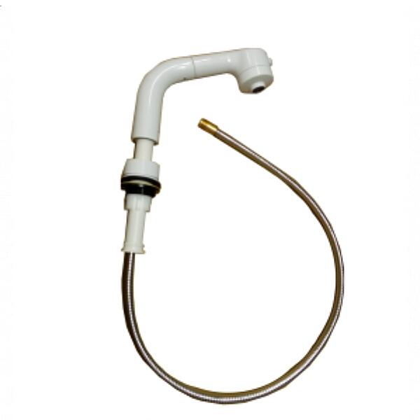 KVK 旧MYM洗髪水栓用ホルダー ホワイト HC578C-6