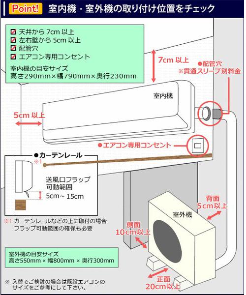 【標準取付+取外+処分セット】2018年 最新モデル 冷暖房エアコン 新品 14畳用(100V)(一部地域を除く)工事保証5年付!