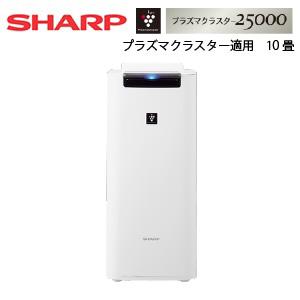 送料無料 シャープ 早割クーポン SHARP プラズマクラスター加湿空気清浄機 上等 ホワイト系 KI-JS40-W