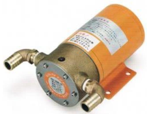 日機装 FD10 ポンプ FD10B6RB-D2 口径3/8 12V モーター直結ポンプ 海水 汚水 FD10 エビポン【送料無料】