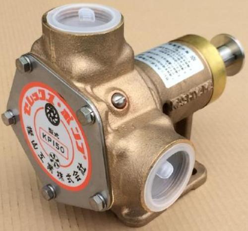 樫山工業 KP-150 セレックスポンプ カシヤマ電磁クラッチなし 単体 口径32mm 海水 汚水 KP150