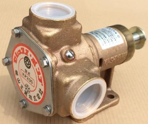樫山工業 KP-200 セレックスポンプ カシヤマ電磁クラッチなし 単体 口径38mm 海水 汚水 KP200