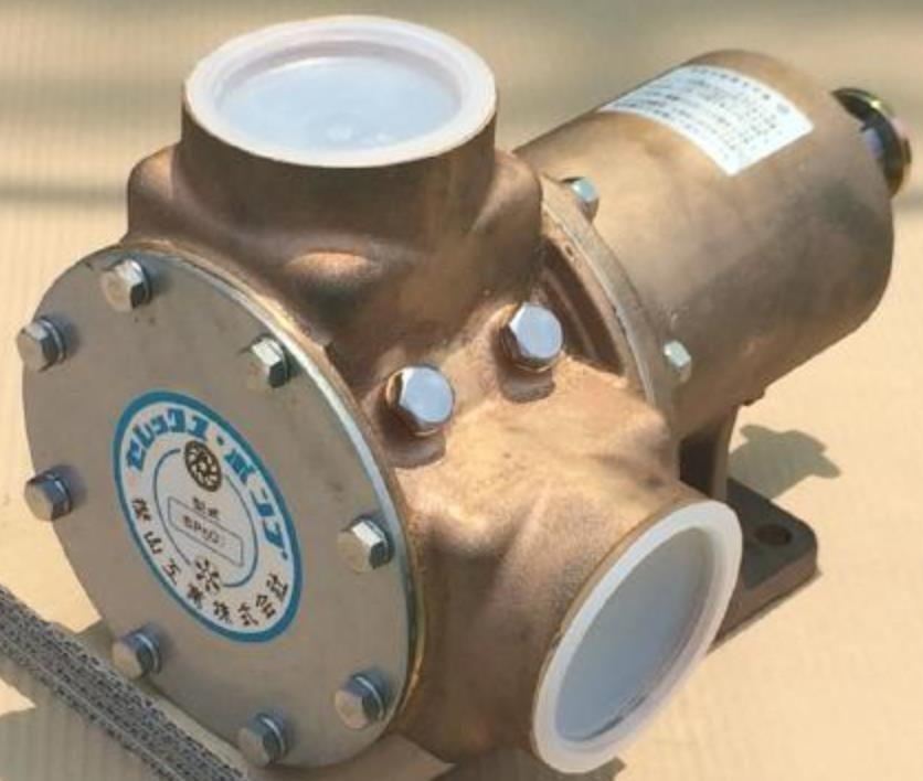 樫山工業 SP-500 セレックスポンプ カシヤマ電磁クラッチなし 単体 口径63mm 海水 汚水 SP500