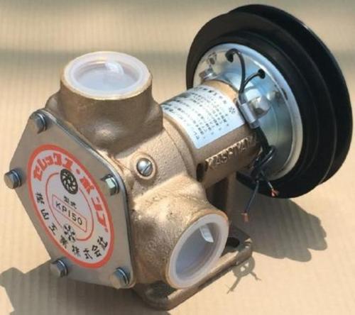 樫山工業 KP-150-BCH セレックスポンプ 電磁クラッチ付 12V 口径32mm 海水 汚水 KP150