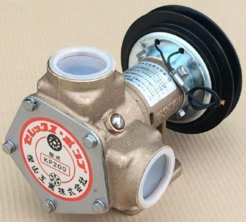 樫山工業 KP-200-BCH セレックスポンプ カシヤマ 電磁クラッチ付 12V 口径38mm 海水 汚水