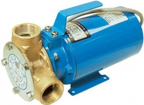 樫山工業 SPM-140-4 ポンプ マリンエース セレックス カシヤマ 24V モーター直結型 口径32mm 海水 汚水