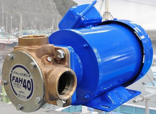 日機装 FAH40 ポンプ FAH40-B6RC-M2 タイポン 海水 200V【送料無料】