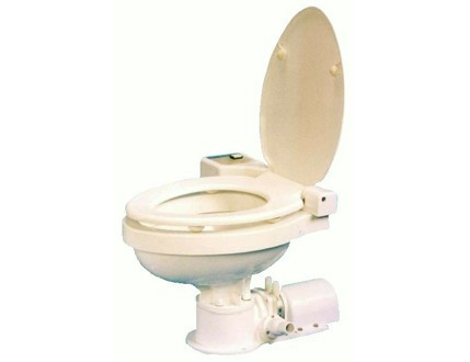 日立 MT-12 電動マニュアルマリントイレ 12V 船舶 トイレ トイレ 詰り難い 大口径金具セット付 排出38mm