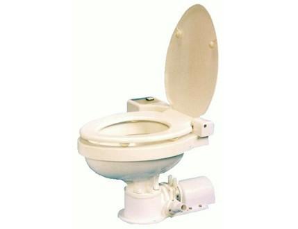 日立 MT-24 電動マニュアルマリントイレ 24V 船舶 トイレ 標準金具セット付