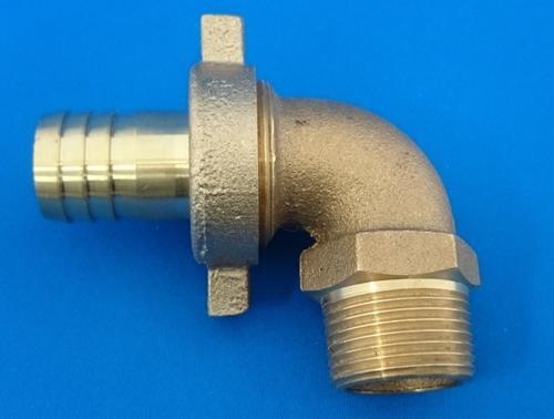 真鍮 BC 分離型ホースエルボ 2