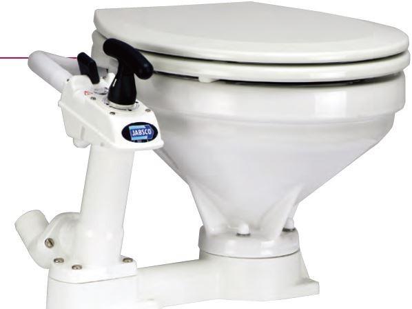 JABSCO ジャブスコ 手動マリントイレ 標準サイズ29090-5000 (旧29090-3000)
