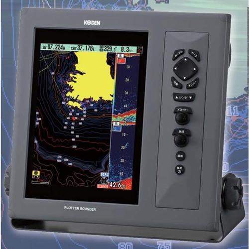 お魚サイズ・newpec全国地図・デジタル魚探・DGPS CVG-207 DGPSセンサー付 600W TD-500T3光電製作所 KODEN