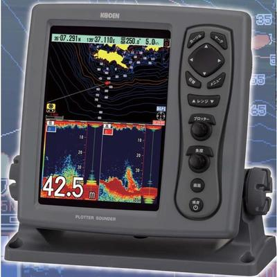 お魚サイズ・newpec全国地図・デジタル魚探・DGPS CVG-87B GPSセンサー付 600W【送料無料】